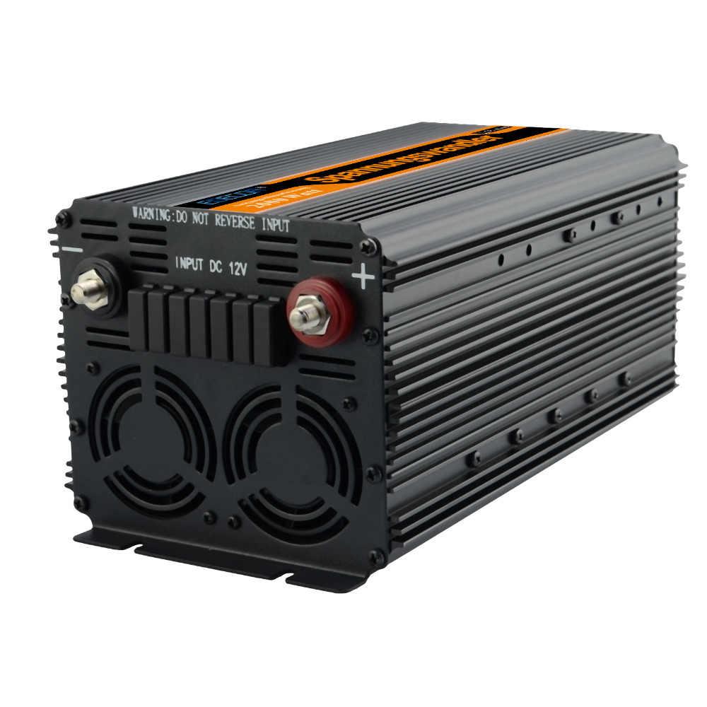 Инвертор 2000 Вт/4000 Вт DC 12 В в AC 220 В модифицированный синусоидальный Солнечный инвертор