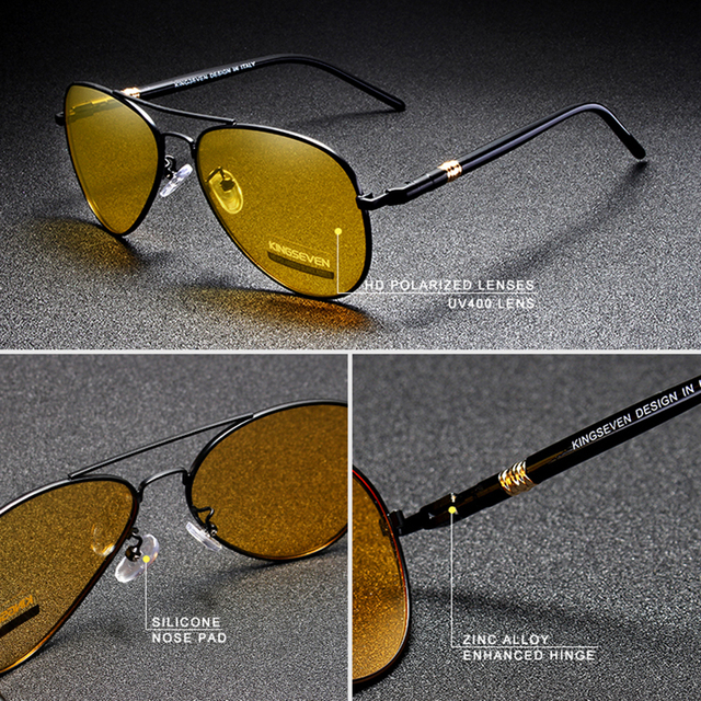 Luxury HD Polarized Driving Sunglasses