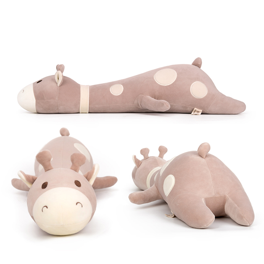 70cm Giraffe Pillow Plush Toy Long Sleep Soft Sleeping Pillow Cartoon Stuffed Animal Funny Toys Birthday Gift Oyuncak   50T0103 stuffed animal plush 80cm jungle giraffe plush toy soft doll throw pillow gift w2912