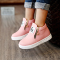 Kids Shoes For girl Kids shoes Boys ZIP Candy Color 2017 autumn new Fashion Children Boots girls shoes Kids fashion Shoes