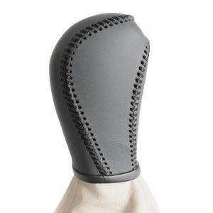 Чехол для SKODA OCTAVIA с ручным рычагом переключения передач, автомобильный Стайлинг, натуральная кожа, ручка переключения передач