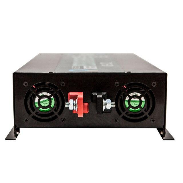 Off Grid 3500W Pure Sine Wave Solar Inverter 24V 220V Car Power Inverter 12V/24V DC to 100V/120V/240V AC Converter Power Supply 3