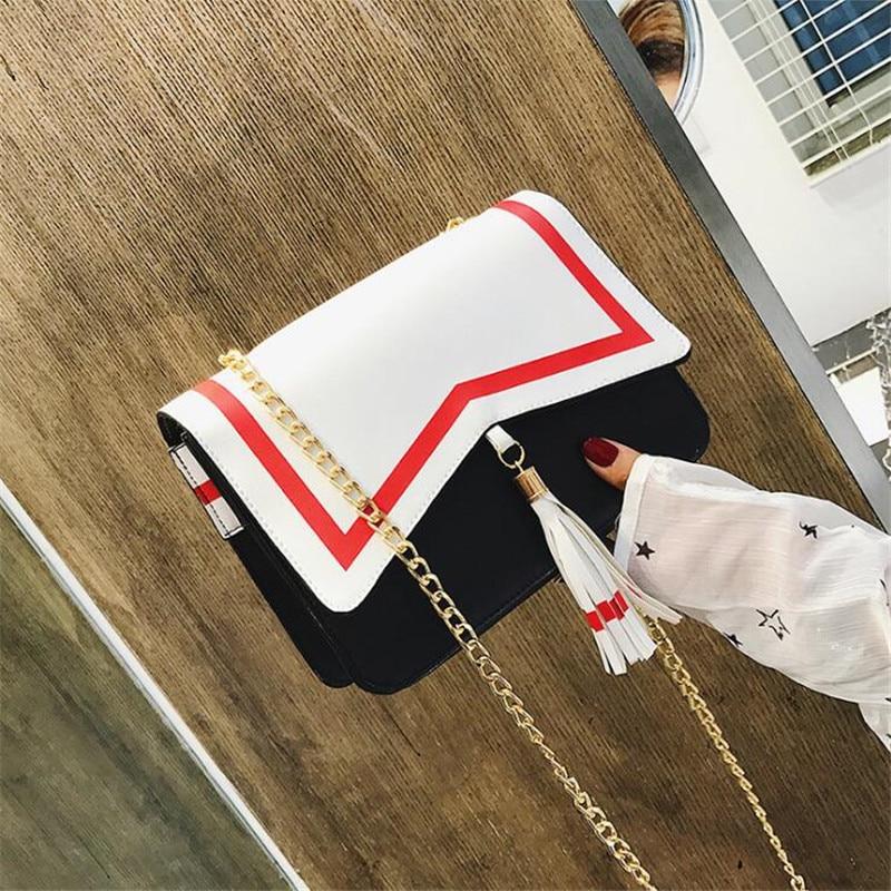Anime Cardcaptor Sakura Navy Shoulder Bag Cosplay Costumes Props PU Cute Fancy Lady Girl Tassel Messenger Bag Japanese Lolita