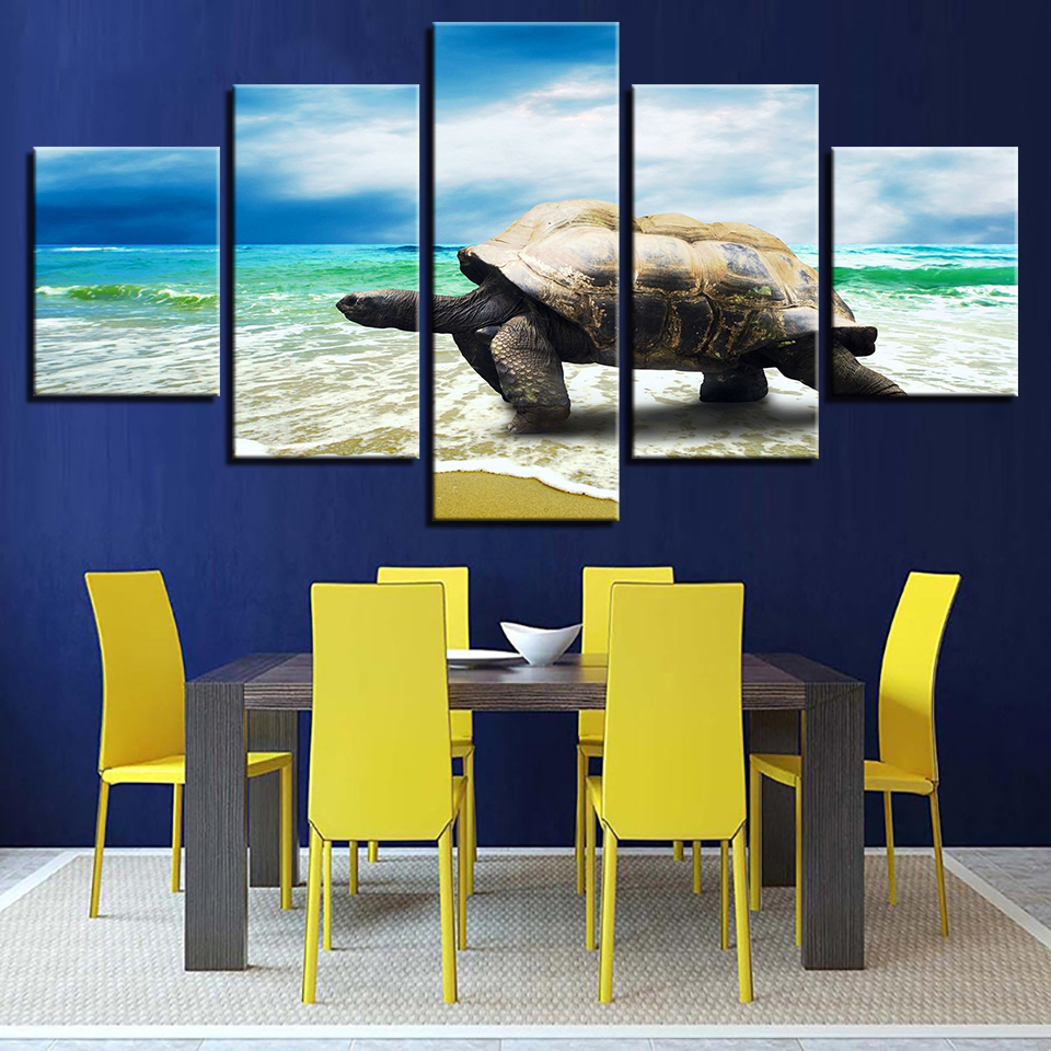 Canvas Paintings Home Wall Decor Art HD Prints Framework 5 Pieces ...