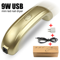 1 Set Original Packaging LED USB Nail Dryer for Nail Gel Polish Nails Care Machine Tools for UV Gel Nail Polish Curing