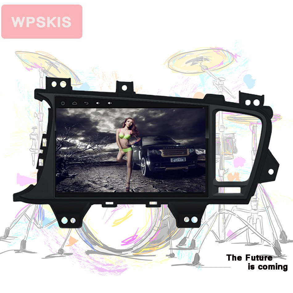 Deckless Octa Core 9 Android 9 0 Car DVD Player for Kia K5 Kia Optima 2015