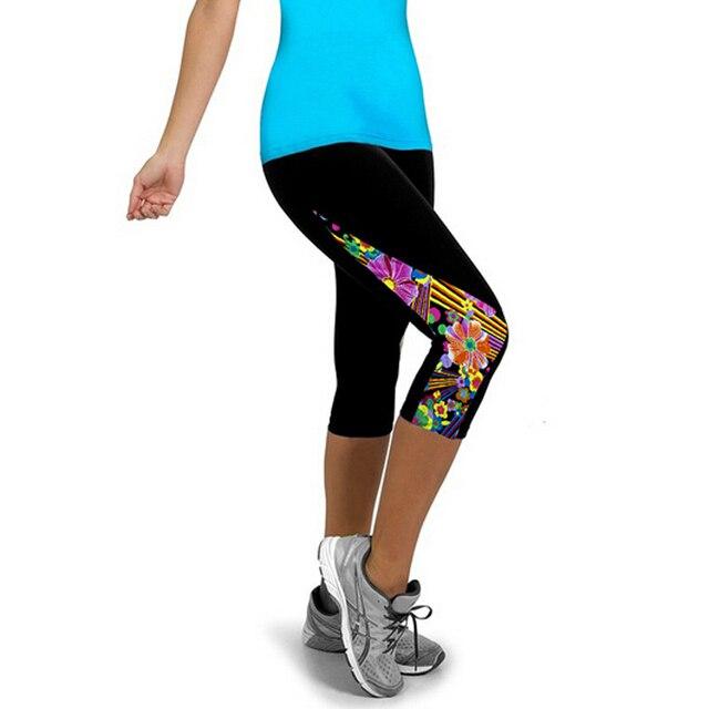 Women 3D Printed Spandex Capris Leggings [13 Styles]