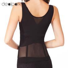Waist Trainer Women Bodysuit Slimming Breathable Underwear Tummy Belt Body Shapewear Underbust Corset Fat Burner Plus Size S-6XL