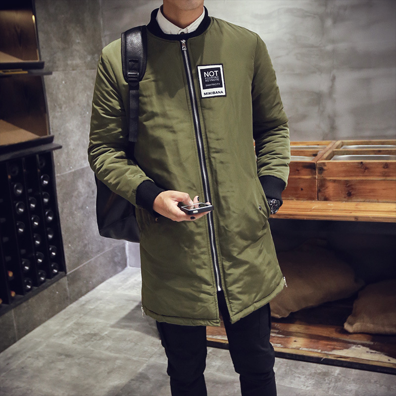 2017 New Fashion Winter Mens Parka Jacket Cotton wedded Korean ...