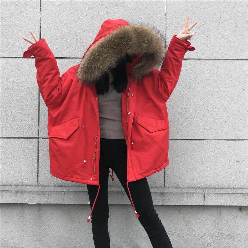c60956fd0 Detail Feedback Questions about big real fur coats jackets for women ...