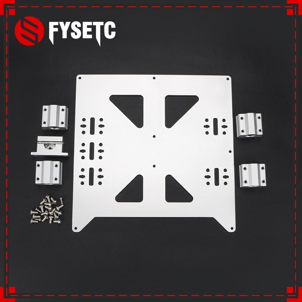 Алюминий Y каретки анодированный пластины с SC8UU pgrade Prusa i3 V2 очаг  Поддержка пластина для