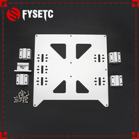 Aluminum Y Carriage Anodized Plate With SC8UU pgrade Prusa i3 V2 Hot Bed Support Plate For Prusa i3 RepRap DIY 3D Printer parts