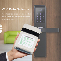 V9.0 Data Collector Hotel Card Lock Managment System Reader For T5557 Smart Card Intelligent Setting Record USB Identification