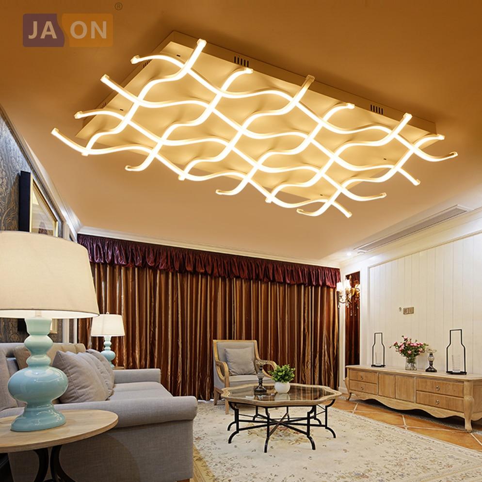 LED Nordique Fer En Aluminium Acrylique Minimlism Lampe LED. LED Lumière. Plafonniers. LED Plafond Lumière. Plafond lampe Pour Foyer Chambre