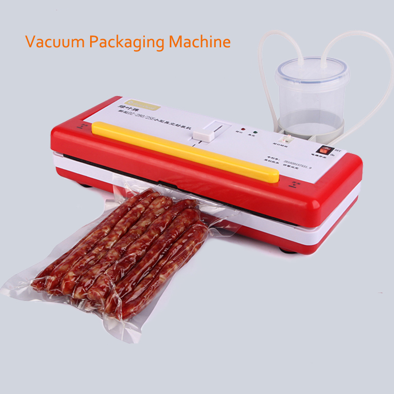 vacuum sealer Vacuum Food Sealer Vacuum Packaging Machine DZ-2SE Domestic food cooked food packing machine