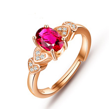 лучшая цена 925 sterling silver Fine Jewelry Pink topaz Rings fashion gift for women Open ring jewelry for wedding j050701agfb wholesale