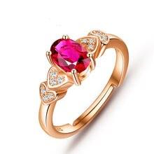 Женское Открытое кольцо из серебра 925 пробы с розовым топазом