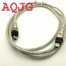 1.5 m 4 p 4 pinos a 4 pinos ieee 1394 para o cabo 4pin do adaptador de ilink ao cabo do firewire
