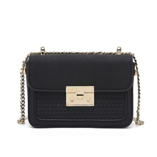 2019 Women chains Handbag PU Leather Female Shoulder Bag Small Square Crossbody Ladies purse Designer Casual Bags
