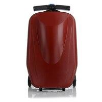 Letrend скутер дело тележки подвижного Чемодан Spinner Для мужчин Бизнес Дорожная сумка 20 дюймов вести чемоданы колеса Мода Магистральные