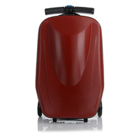 Letrend Scooter Trolley Case Rolling Luggage Spinner Men Business Travel Bag 20 Inch Carry On Suitcases