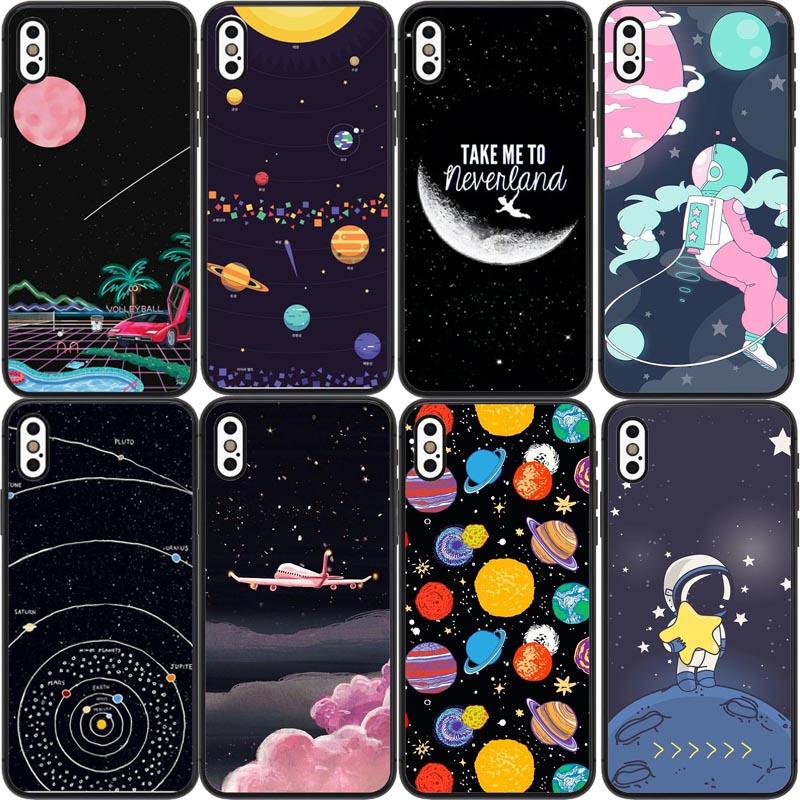 Half-wrapped Case Cellphones & Telecommunications Starry Sky Constellation Case For Iphone8 8plus 7 7plus 6s 6splus 5s Se Case C Phone Hard Cover Case