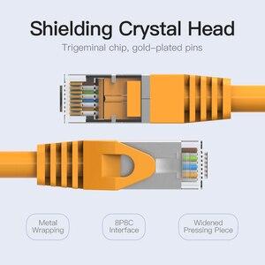 Image 3 - Vention Ethernet כבל RJ45 חתול 6a Lan כבל UTP RJ 45 רשת כבל עבור Cat6 תואם תיקון עבור מודם נתב כבל 1m 5m