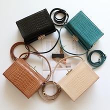 MZORANGE 2019 New Fashion Design Women Handbags Shoulder Small Box Bag Genuine Leather Female Bags Four Colors Ladies Tote