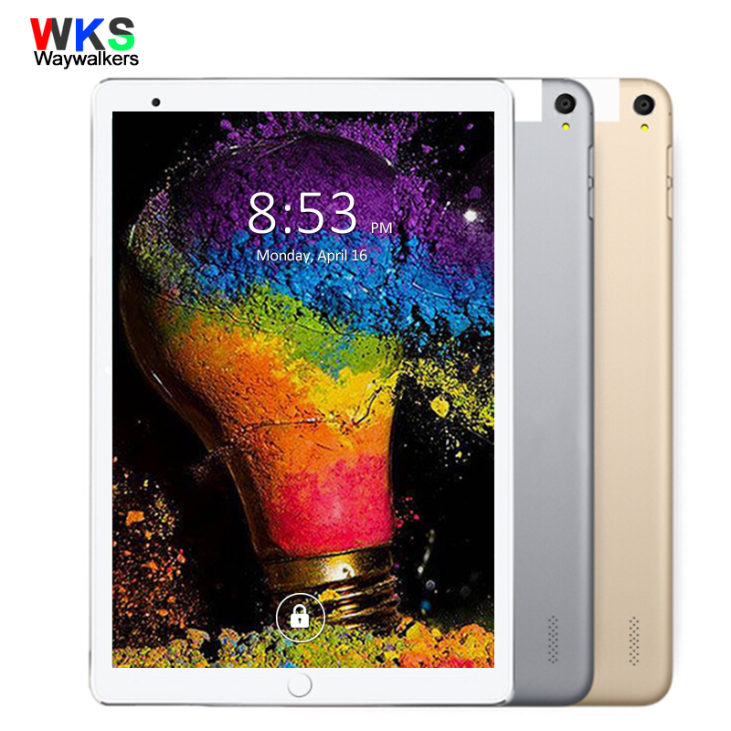New Free 10.1 inch Tablet PC Octa Core 4GB RAM 64GB ROM Phone Dual SIM Cards 3G WCDMA Android 4.4 GPS Tablets 10 10.1 +Gifts