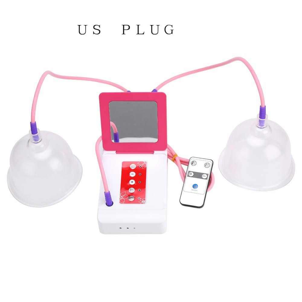 2 размера массаж груди электрические вакуумные чашки увеличение груди усилитель груди насос бюстгальтер увеличить удаленный массажер бюст разработчик уход США/ЕС