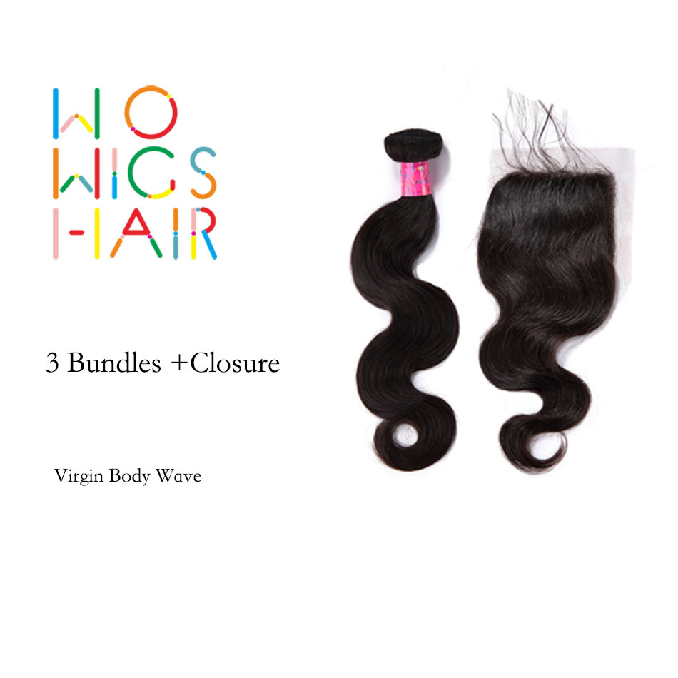 new used bundles with closure bw