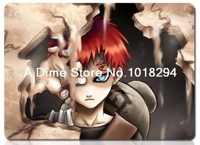 Naruto mouse pad Gaara mousepad laptop anime mouse pad gear notbook computer gaming mouse pad gamer play mats