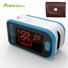 PRO-F4 with a bag Finger Pulse Oximeter,Heart Beat At 1 Min CE Approval-skyblue