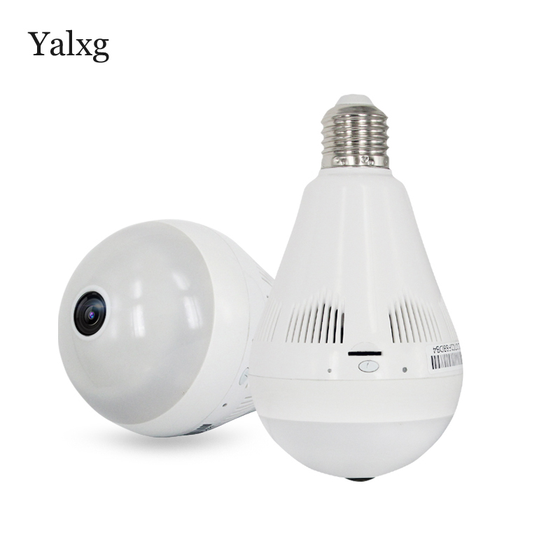 Home Security P2P 960P HD Bulb Wireless IP CCTV Camera Wi-FI FishEye 360 VR Wireless Lamp Camera Mini DVR Support Iphone/Android eplutus dvr 920 wi fi 2 камеры