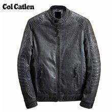 Heißer Verkauf Herren Winter Lederjacke Beliebte Herren Dicke Warme Outwear Beiläufige Lederjacke Männer Baumwoll Männlich Kühlen Jacke Mantel