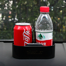 Soporte portátil multifunción para coche, doble agujero, para bebidas, organizador Interior de coche, portavasos, soporte para botella, estilismo para coche