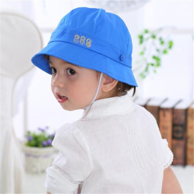 Toddler Newborn Baby Fisherman Hat Girls Boys Sun Beach Hat Bucket Cap Casual