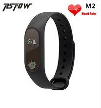 Bluetooth SmartBand M2 умный Браслет монитор сердечного ритма здоровья фитнес трекер Водонепроницаемый Смарт группы браслет для iOS и Android