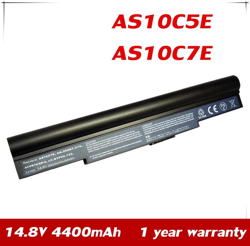 7XINbox 14.8V BATTERY For ACER Aspire 8943G 5950G 8950G AS10C5E AS10C7E 934T2086F NCR-B/811 934T2086F BT.00805.015 LC.BTP00.132