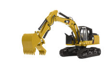 Tonkin TR40003 Cat Caterpillar 568GF Road Builder with Thumbs Diecast Model