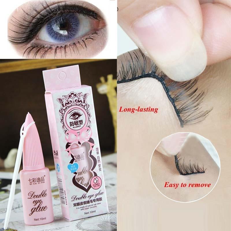 1 Pcs Eyelash Glue Double Eyelid Beauty Waterproof False Eyelash Adhesive Extension Women Gifts Makeup Lash Glue Cosmetic Tools