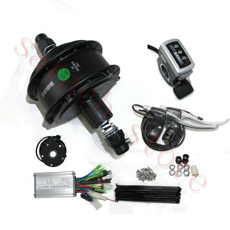 36 hole 350w 36v electric hub motor e bike kit. Black Bedroom Furniture Sets. Home Design Ideas