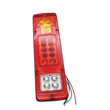 Yait 1 шт. 19 светодио дный грузовик задний фонарь 12 В 24 В автомобиля светодио дный фара Ван лампы заднего хода задние фонари освещение для прицепов светодио дный заднего света