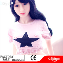 Cosdoll 140cm Sex Dolls, Full Size Silicone with Metal Skeleton Love Doll, Oral Vagina Pussy Anal Dolls for Men Masturbation