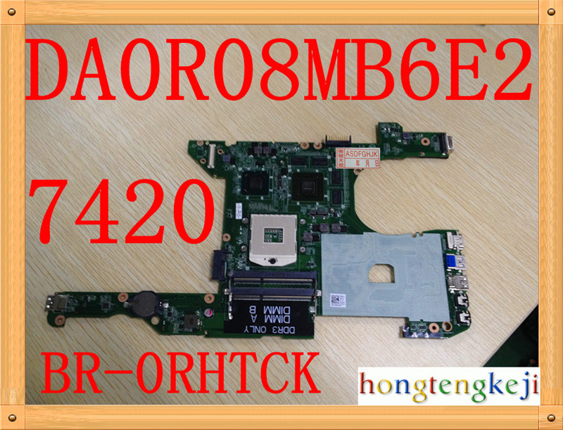 Original for Dell Inspiron 14r 7420 5420 Laptop Motherboard da0r08mb6e2 CN-0RHTCK 0RHTCK RHTCK fully tested Original for Dell Inspiron 14r 7420 5420 Laptop Motherboard da0r08mb6e2 CN-0RHTCK 0RHTCK RHTCK fully tested