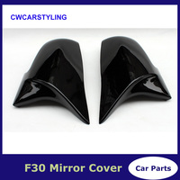 One Pair Gloss Black Rearview Mirror Cover For BMW F20 F21 F22 F30 F32 F36 X1 F87 M3 2012 2013 2014 2015 2016 2017