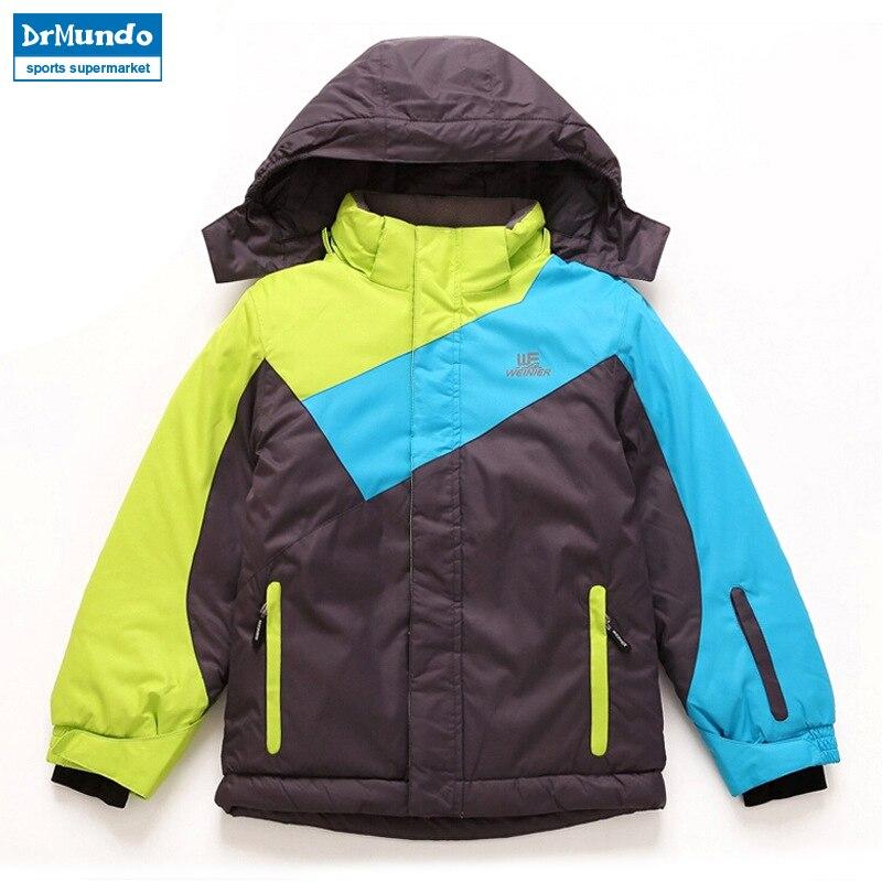 Garçons snowboard veste ski hiver imperméable enfants alpinisme veste en plein air filles ski costume enfants neige vestes vêtements