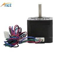 1pcs Lot Anet Universal Laser Printer Engraver Equippment Anet Linear Screw 2 Phase 42 Stepper Motor