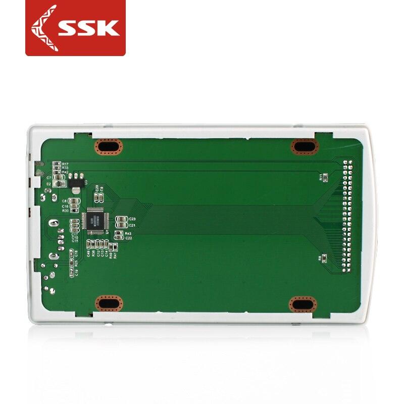 SSK 2,5 дюймов USB2.0 мобильный жесткий диск коробка ide ноутбук жесткий диск коробка she030