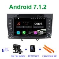 2 GB RAM Quad Core Android 7.1.2 Multimedia Auto DVD-Navigation Für peugeot 408/308/308SW Autostereoanlage headunit